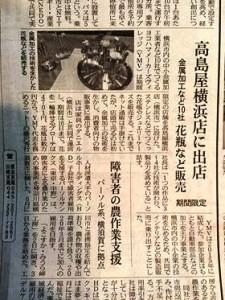 ごめん日経新聞に掲載です